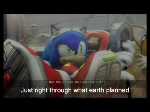 Sonic: Un-gravitify (Crush 40 version) [With Lyrics]