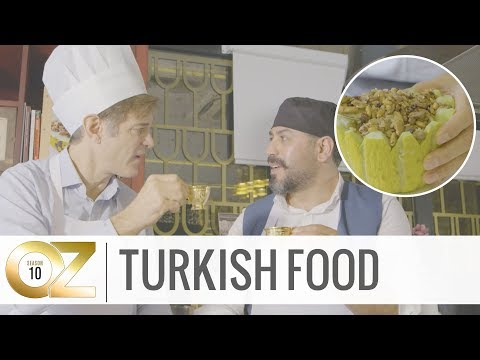Dr. Oz Learns How To Cook Turkish Cuisine In Istanbul