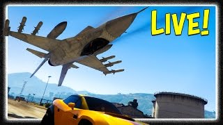GTA 5 Online FREE MODE EVENTS LIVE!!! Hunt the Beast, Penned In & More! [GTA V]