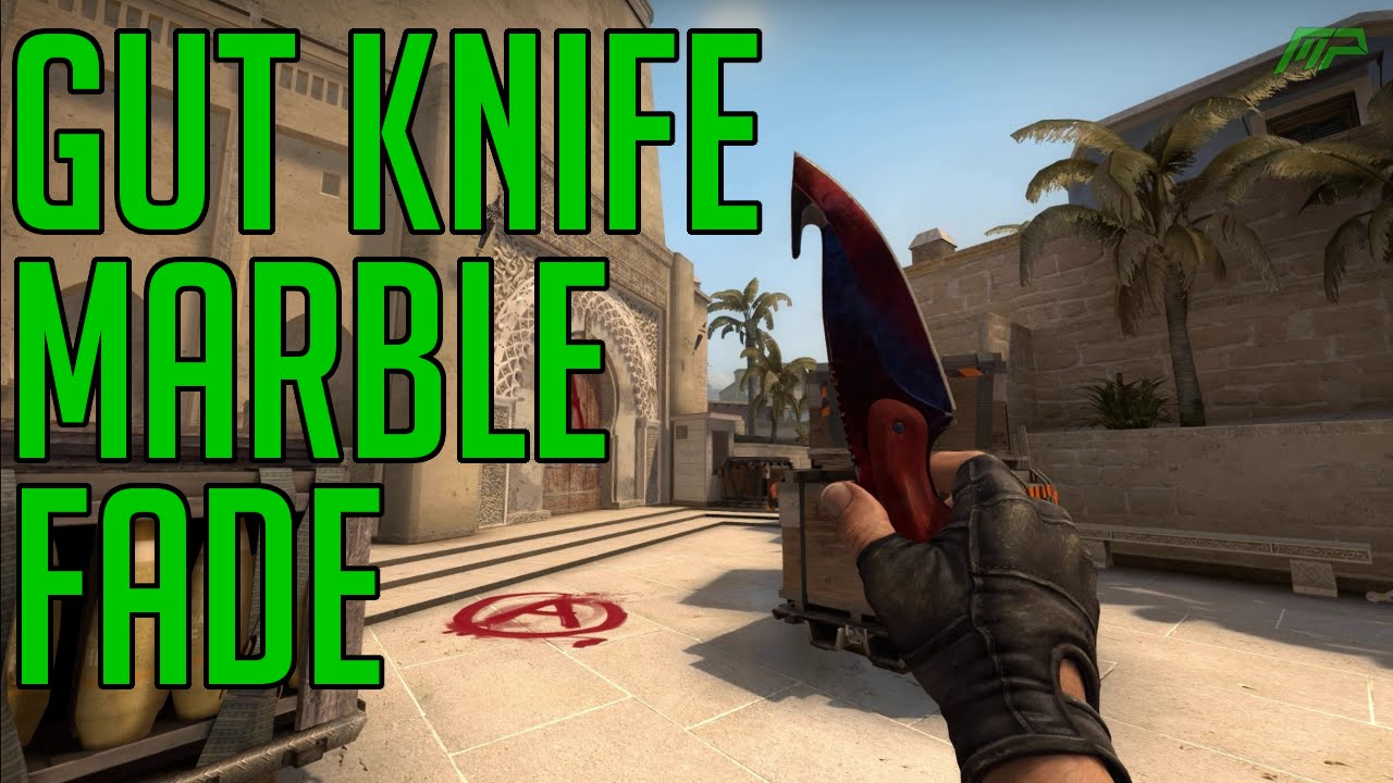 Csgo Skins Gut Knife Marble Fade Factory New Animations Fire