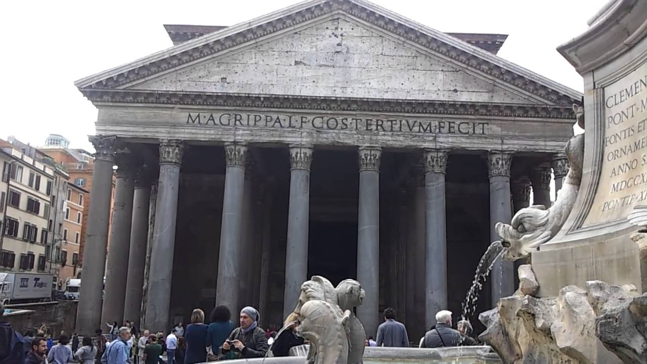 What is a pantheon Roman and Greek pantheons