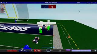 [Roblox LFL] Vermont Spartans vs Omaha Mustangs Highlights