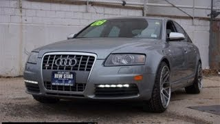 2008 Audi S6 5.2 V10 Quattro Vehicle Overview & Test Drive