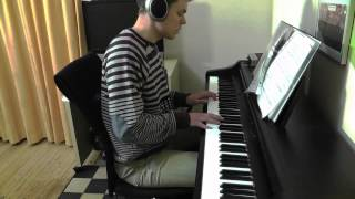 Dashboard Confessional - Stolen - Piano Cover - Slower Ballad Cover