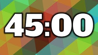 45 Minute Timer