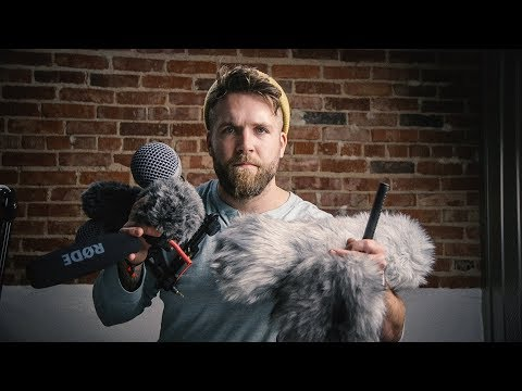 WIND PROTECTION for Video Production Audio // How to protect against the wind?