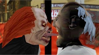 La abuelita vs Payaso vs el Mal Monja divertida animación 53