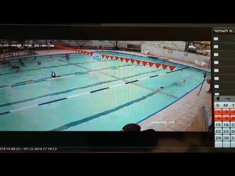 Afogamento real criança em piscina