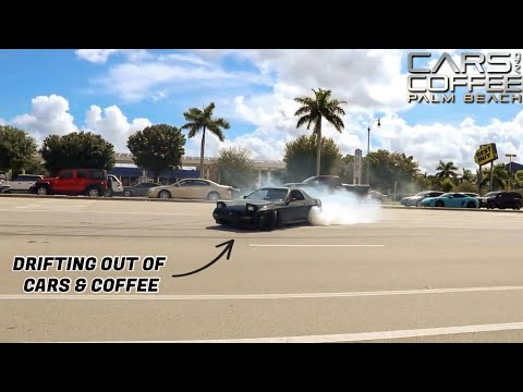 Palm Beach Cars & Coffee - October 2019 Pullouts