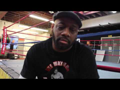 "Ike Williams boxing academy founder & coach Eric ""O"" Judkins interview with AMG"