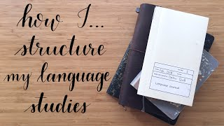 How I ... | Structure My Language Studies