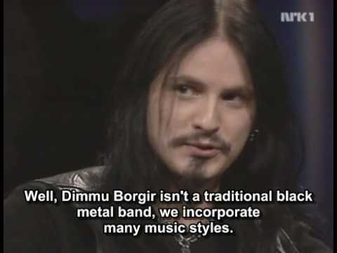 Dimmu Borgir - Interview on NRK1 (Subbed)