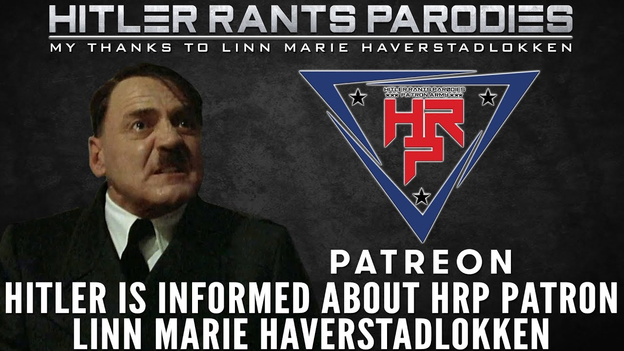 Hitler is informed about HRP Patron: Linn Marie Haverstadlokken