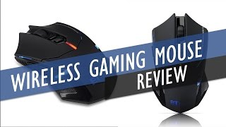 Pictek 2.4G Wireless Gaming Mouse Review
