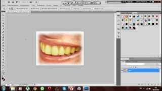 Урок фотошопа cs 5 №1 отбеливание зубов.