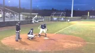 demarini baseball bat breaks hits guy in neck