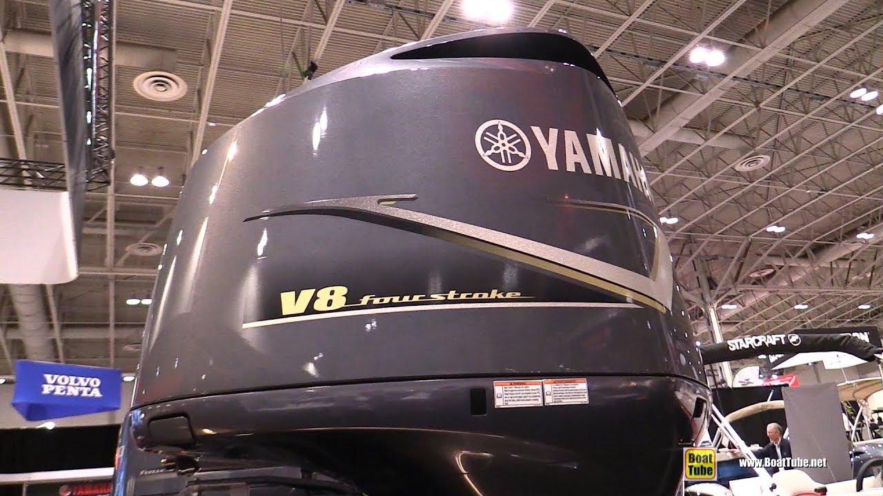 2017 Yamaha 350hp V8 Marine engine - Walkaround - 2017 Toronto Boat Show