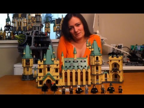 beroemd merk kind klassieke stijl BrickQueen LEGO Harry Potter 4842 Hogwarts Castle Review & How to Connect  4867 Battle for Hogwarts