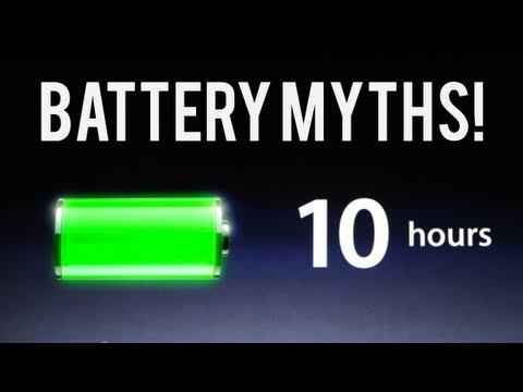 Top 3 Battery Myths!