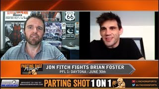 PFL 1's Jon Fitch talks Brian Foster matchup, The Ali Act & The Ultimate Fighter