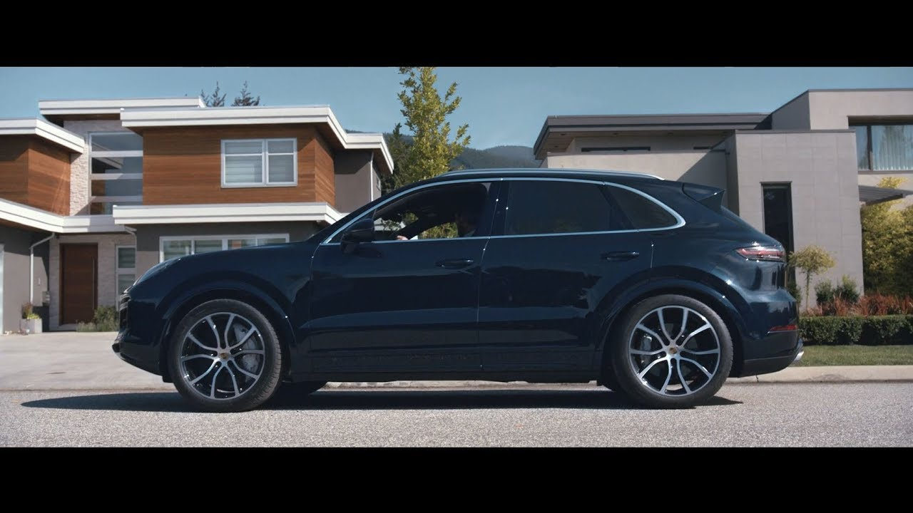 the new porsche cayenne tvc neighbor. Black Bedroom Furniture Sets. Home Design Ideas