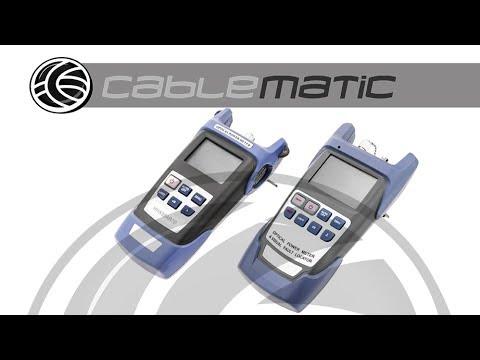 Generador Medidor De Luz Para Fibra Óptica – Distribuido Por Cablematic ®
