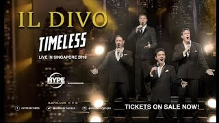 Baixar IL DIVO Timeless Concert Promo Singapore 13-10-2018