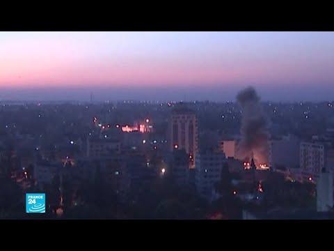 سقوط قتلى فلسطينيين في غارات إسرائيلية وقصف على قطاع غزة  - نشر قبل 1 ساعة