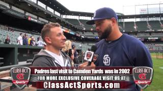 Yonder Alonso Interview at Camden Yards w/ Jared Ginsberg of Class Act Sports