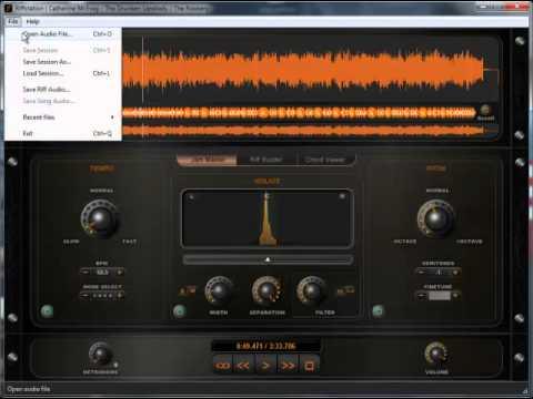 Riffstation instrument separation demo