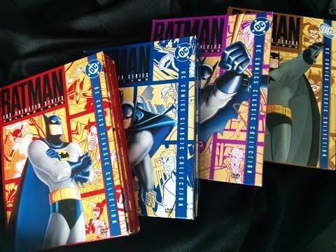 Batman: The Animated Series Volumes 1-4