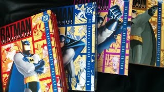 Batman: The Animated Series volumes 1-4 Video