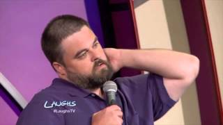 John Conroy Stand-Up: Being A Big Guy