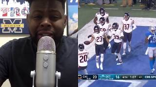 Detroit Lions vs Chicago Bears Week 12 Highlights | Lions Should Tank | NFL 2018