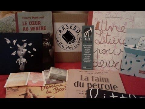 Aksebo - box de livres