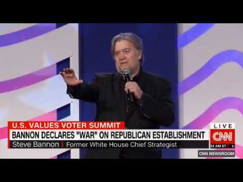 Steve Bannon declares war on McConnell and the Republican establishment