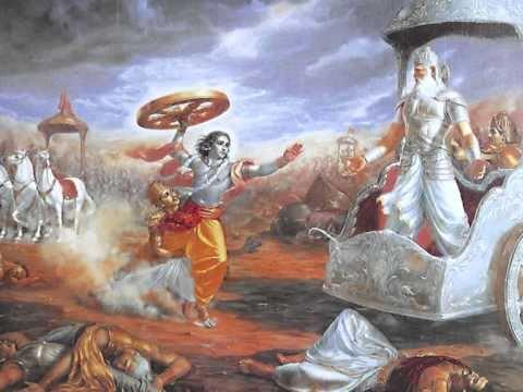 Sri Krishna Stuti By Bhishma In Srimad Bhagavatam Of Bhagavan Veda Vyasa Youtube
