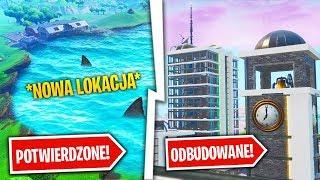 PRACOWNIK EPIC GAMES POTWIERDZA WODNĄ LOKACJĘ!  WYKRZYWIONE ODBUDOWANE! | Bambikowe Wiadomości #11