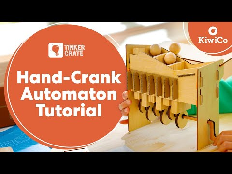 Make a Hand-Crank Automaton - Tinker Crate Project Instructions