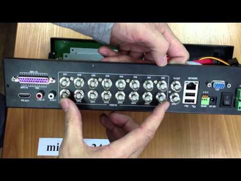 IP-видеорегистратор TRASSIR MiniNVR AF 16