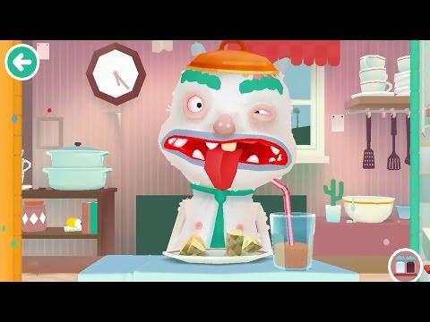 Веселая игра Готовим еду Toca Kitchen 2 обзор игры