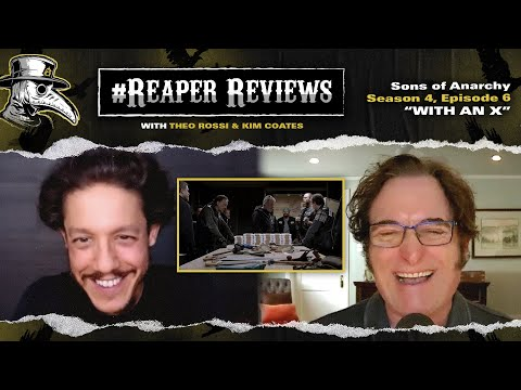 """Download """"With An X"""" - Sons of Anarchy season 4 episode 6 ReaperReviews w/Theo Rossi & Kim Coates"""