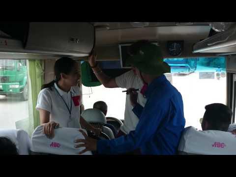 Trại Hè Vn 2014 - chơi trò chơi trên xe số 2 (Quy Nhơn, Bình Định)