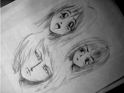 Как нарисовать аниме. Эмоции.