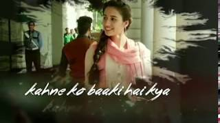 KAUN TUJHE YU PYAR KAREGA - LOVE SONG - LYRICAL - WHATSAPP STATUS