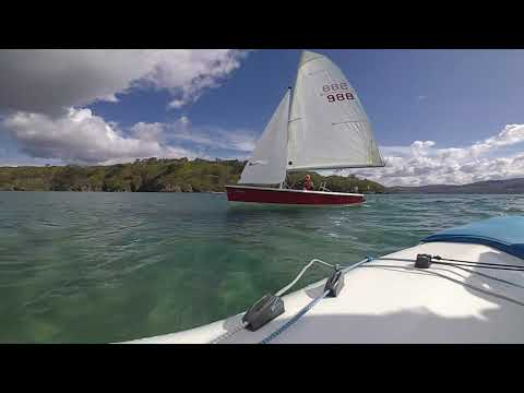 Dinghy Sailing Adventure North Wales. Porthmadog two islands for Yodare
