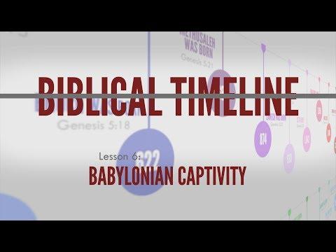 6. Babylonian Captivity | Biblical Timeline