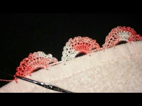 Crochet Dupatta Lace Pattern/ indian crochet patterns