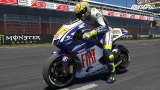 MotoGP 19 - Yamaha YZR-M1 2009 - Test Ride Gameplay (PC HD) [1080p60FPS]