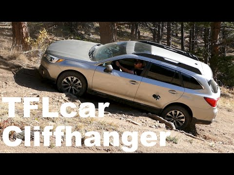 2017 Subaru Outback Takes On The Tfl Cliffhanger Ultimate Off Road Review